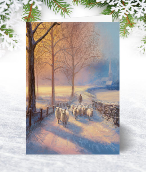 The Shepherds Path Chistmas Card