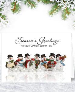 A Jolly Team Christmas Card