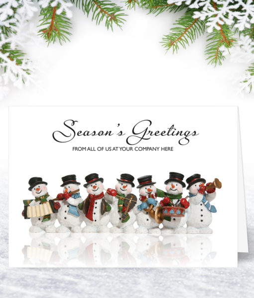 A Jolly Team Christmas Card