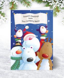 Christmas Banner Christmas Card