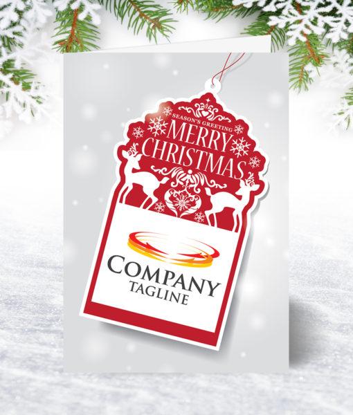 Christmas Tag Christmas Card