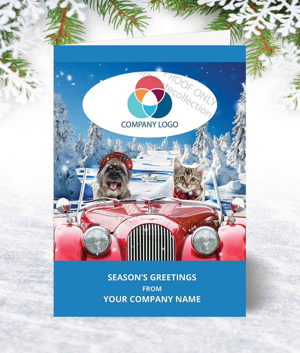 Coming Home For Christmas 2019.Driving Home Christmas Card Corporate Collection