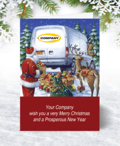 Good to Go Van Christmas Card