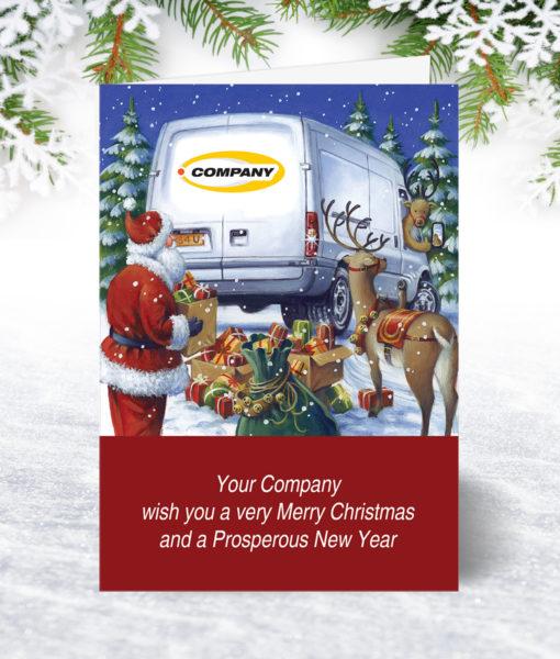 Good to Go Van Christmas Card