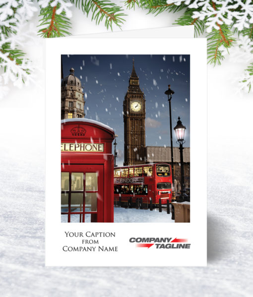 London City Snow Christmas Card