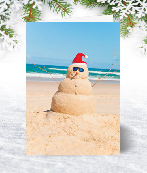 Santa Sandman Christmas Card