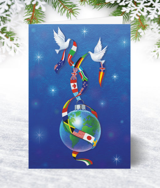 United in Peace Christmas Card