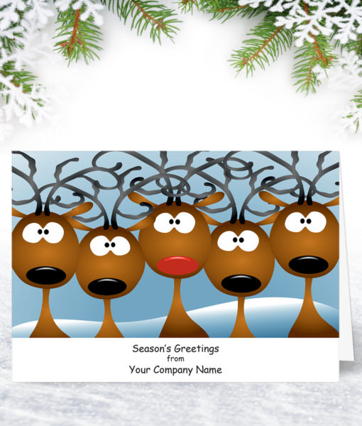 What Yule Looking At Chistmas Card