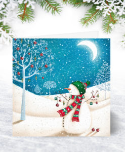 S0090 Decorated Branches Christmas Card