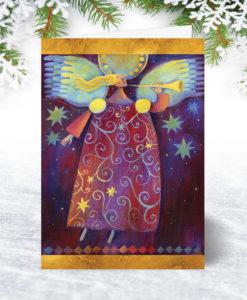 Gabriel Christmas Card