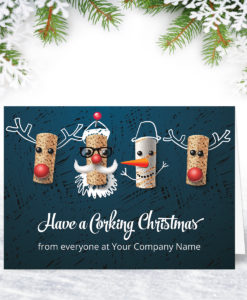 A Corking Christmas Card