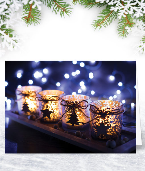By Lantern Light Christmas Card