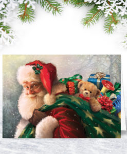 Bearing Gifts Christmas Card