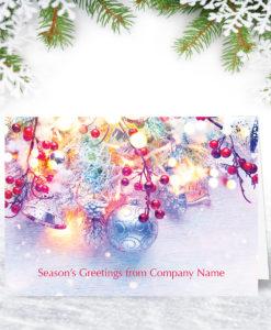 Christmas Lights Christmas Card