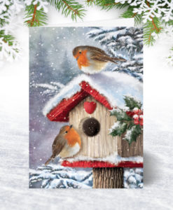 Home for Christmas Holiday Card