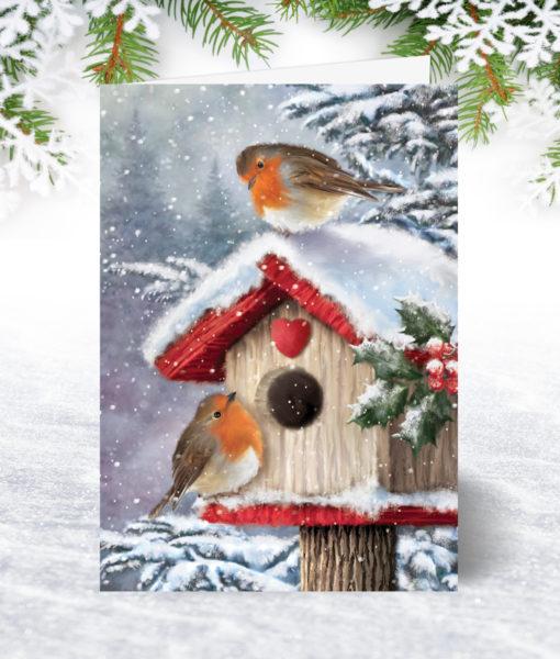 Home for Christmas Holiday Card