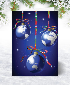 International Greetings Christmas Card