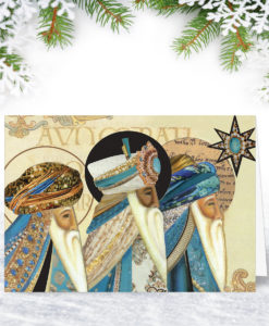 Three Kings Christmas Card