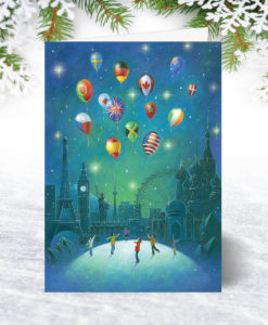 Global Greetings Christmas Card