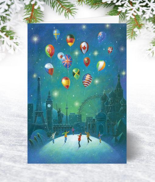 Global Greetings Christmas Card