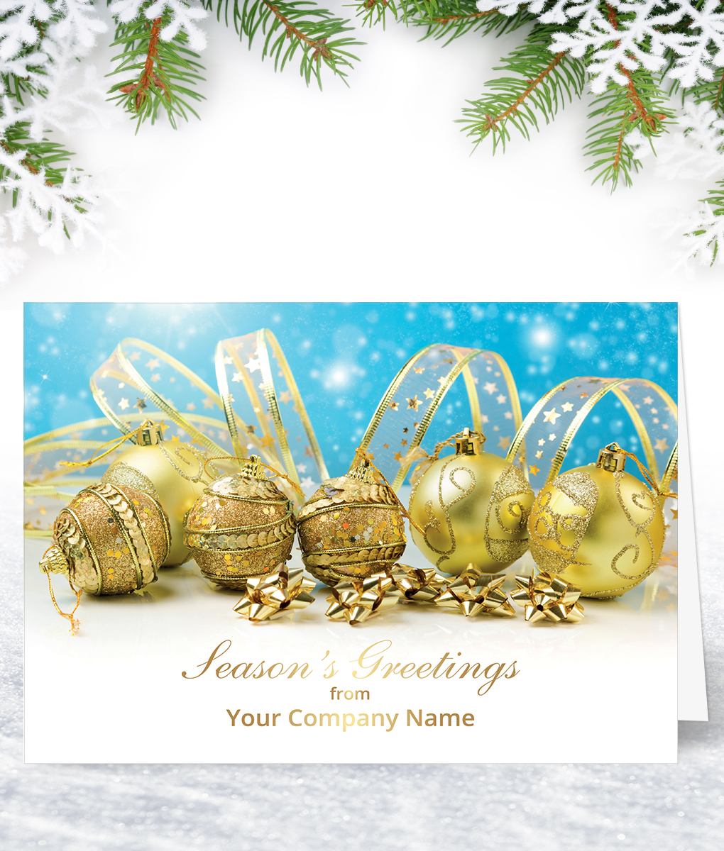 Christmas Decorations Christmas Card Corporate Collection