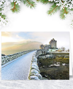 Eilean Donan Castle Scottish Corporate Christmas Cards