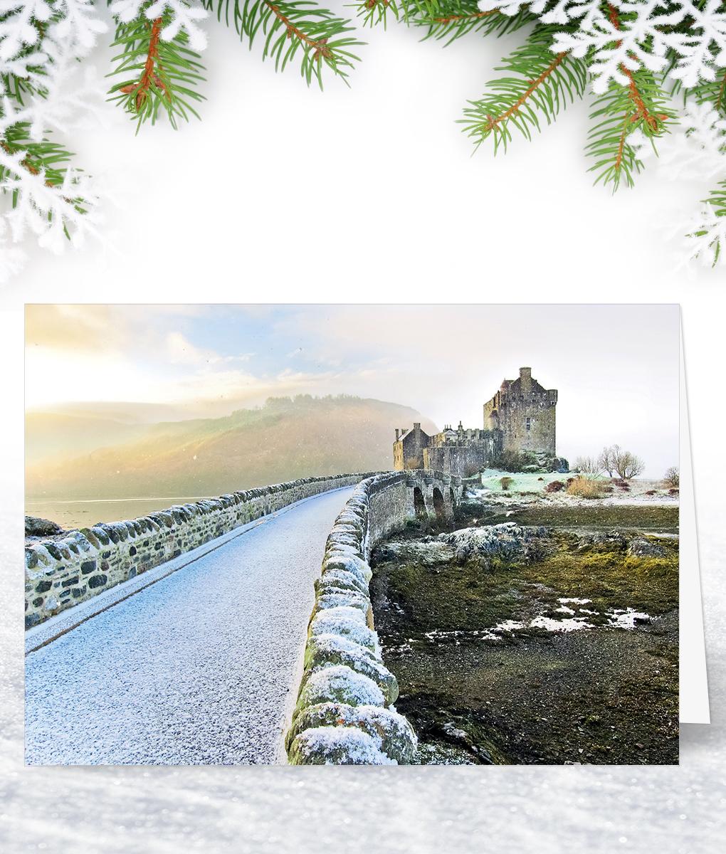 Eilean donan castle corporate collection eilean donan castle scottish corporate christmas cards m4hsunfo
