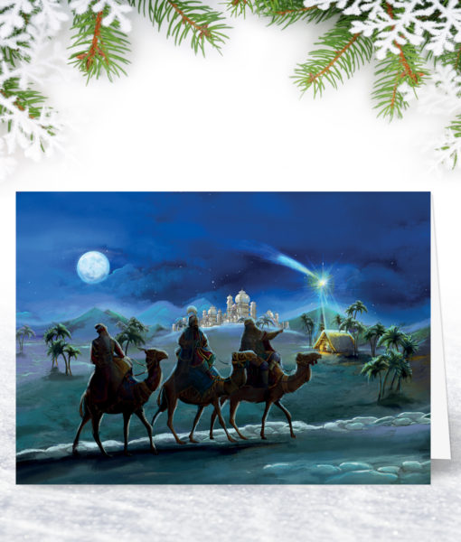Following Yonder Star Christmas Card