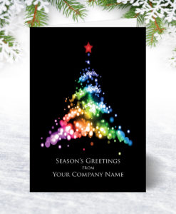 Neon Tree Christmas Card