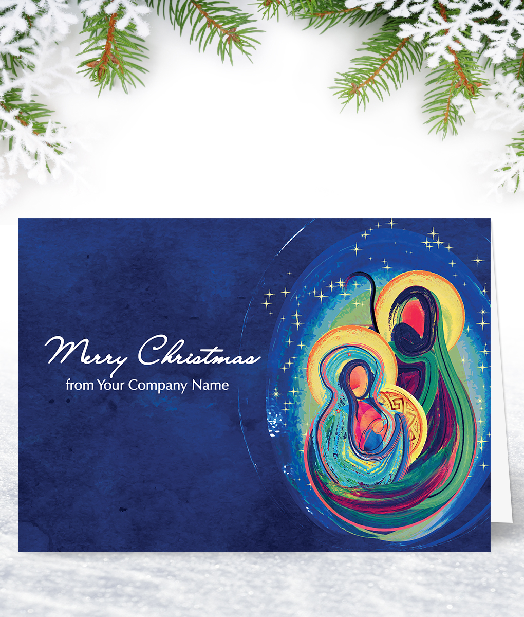 Religious Christmas Cards.The Birth Christmas Card Corporate Collection