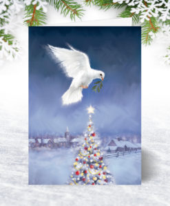 Bringing Peace Christmas Card