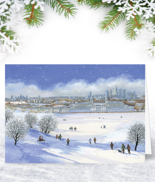 Greenwich Park Christmas Card