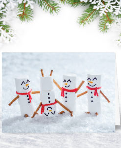 Marshmallow Fun Christmas Card