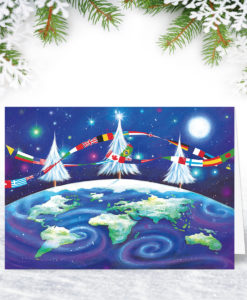 International Christmas Card Design