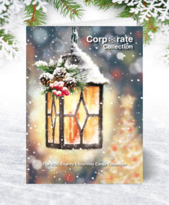 Personalised Christmas Card Brochure for Corporate Collection