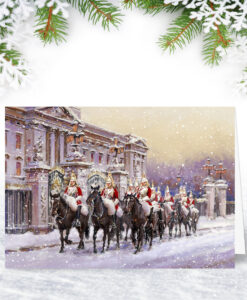 Horse Guards Parade Personalised Christmas Card