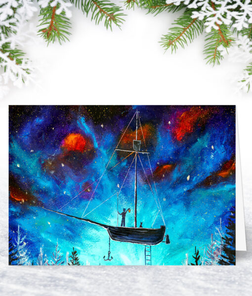 Into the Night Christmas Cards