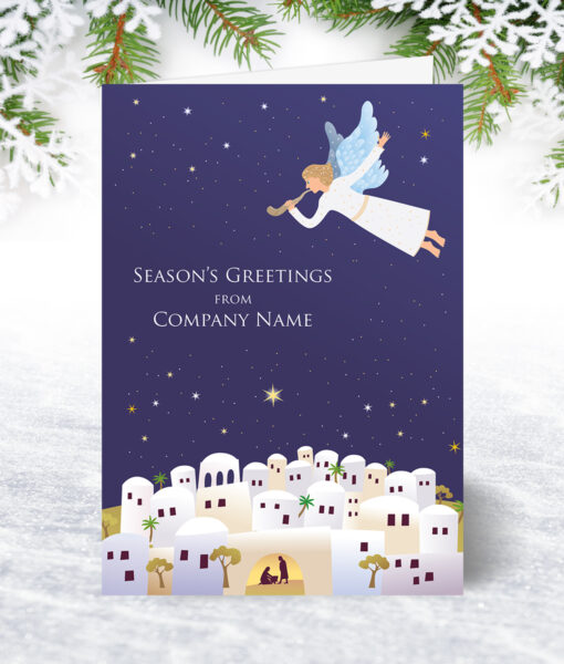 An Angel Appeared Christmas Card