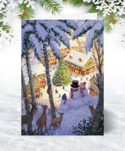 U0206 A Christmas View Card