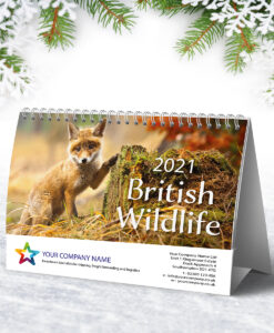 British Wildlife Flip Desk Calendar