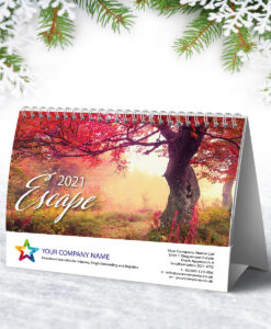 Escape Flip Desk Calendar Calendar