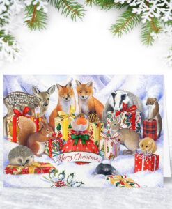 Festive Wildlife Christmas