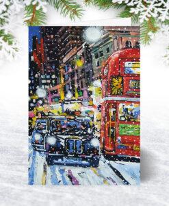 London Bustle Christmas Card