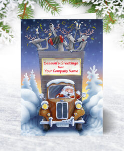 Ready to Roll Christmas Card